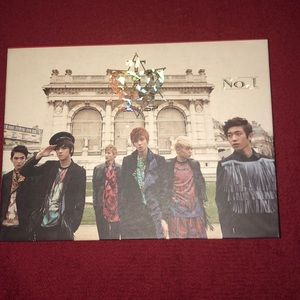 Teen top no.1 album. C.A.P photo card